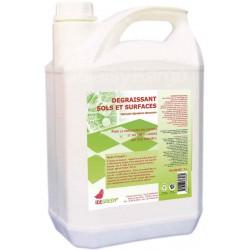IDEGREEN - B444 - Dégraissant sols et surfaces Ecologique - Bidon 5L