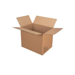 Caisse carton simple cannelure 54x36x32 - Pqt de 20