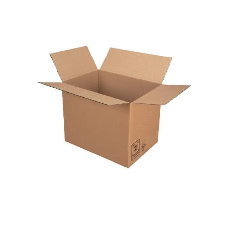 Caisse carton simple cannelure 54x36x32 - Pqt de 20