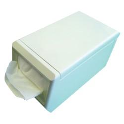 Distributeur pour serviettes décalées