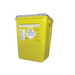 Fût polypropylène jaune avec obturateur 30L
