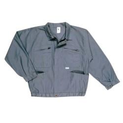 Blouson de travail 65% coton 35% polyester (Bleu ou Gris 1à6)