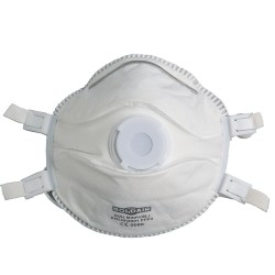 Masque faciale FFP3 avec valve - Boïte de 5
