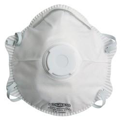 Masque facial FFP2 avec valve - boite de 10