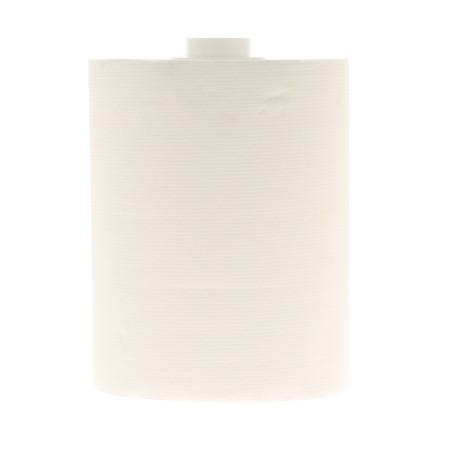 Essuie-mains 2 pl. g/c  pure ouate blanc 140m E23cm - Colis 6 rlx