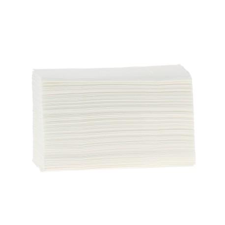 EMP 2 pl. g/c en Z pure ouate blanc Ecolabel 20.6x24cm - Ct de 3750
