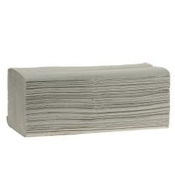 EMP 1 pl. crêpé en V recyclé blanc 25x23 cm - 268110 - Ct de 5000