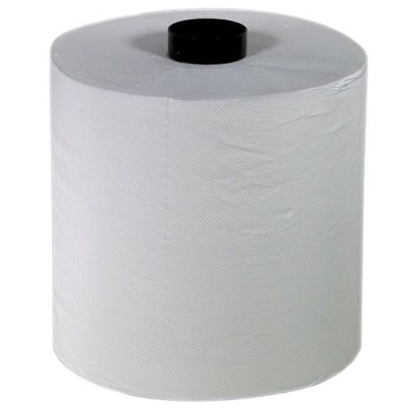 Essuie-mains 2 pl. g/c pure ouate blanc 150m S3X - Colis 6 rlx