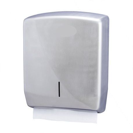Distributeur essuie-mains pliés INOX Brossé