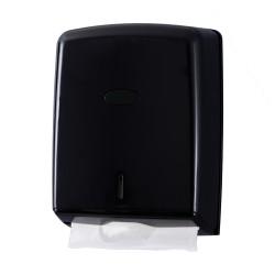 Distributeur essuie-mains pliés ABS Noir