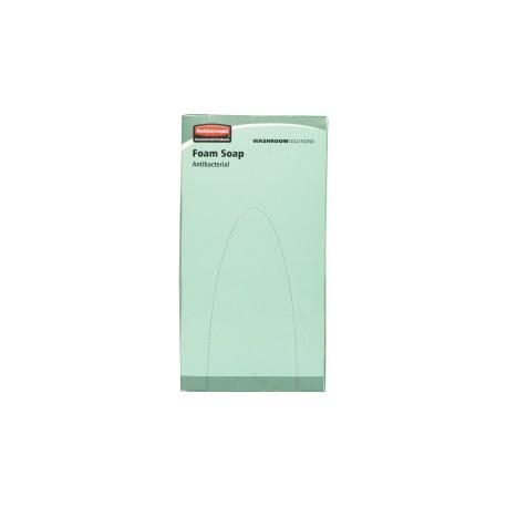 Savon mousse antibactérien 800ml RVU8528 - Ct de 6 recharges
