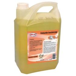 Liquide vaisselle bactéricide plonge manuelle ORLAV - 407 - Bidon 5L