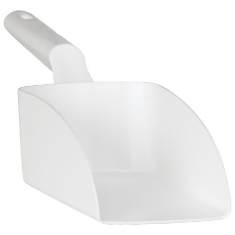 Ecope à main PP blanche 2,5L