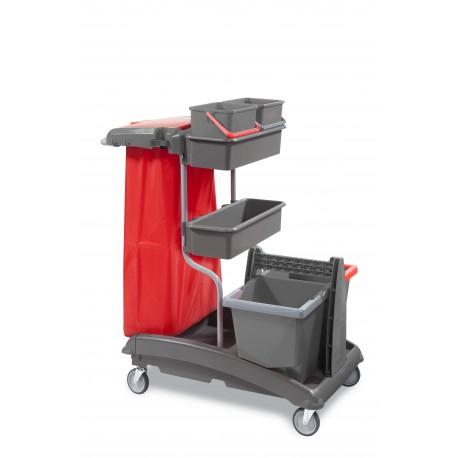 Chariot de ménage et de lavage IDEATOP 6A