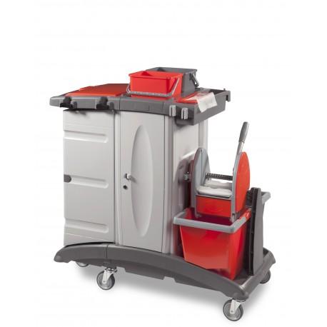 Chariot caréné MXTOP 303 avec système de lavage sécurisé à clef