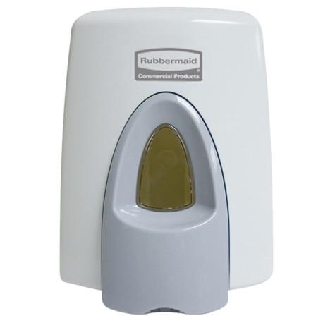 Distributeur pour recharge RUBBERMAID 400ml pour siège WC - RTF9507