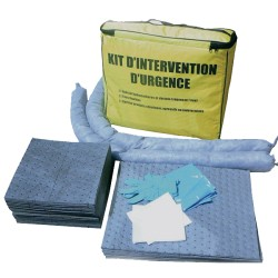 Kit d'intervention 25L tous liquides