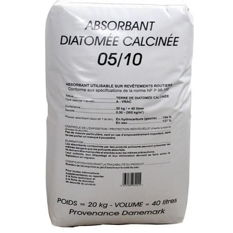 Terre de Diatomée 5/10 - Sac 20kg / 40L