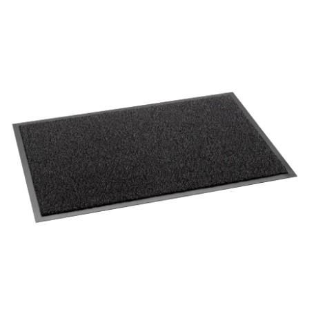 Tapis anti poussière MATADOR velours polyamide semelle PVC 60x90cm