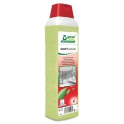 Nettoyant SANET NATURAL sanitaires ECOLABEL - Bidon 1L