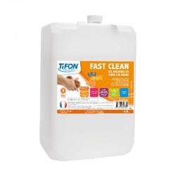 Savon mains FAST CLEAN microbilles 4.5L TIFON - Ct de 4 cartouches