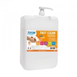 Savon mains FAST CLEAN microbilles TIFON - Bidon 4.5L avec pompe