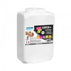 Savon gel mains SUPER + microbilles (solvanté) TIFON - Pot 4.5L