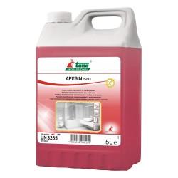 Détartrant désinfectant concentré APESIN SAN - Bidon de 5L
