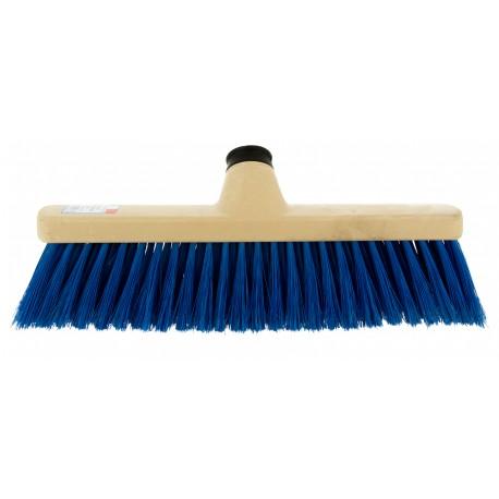 Balai afficheur bleu / Monture PP  PBT  fleuré douille vis inclinée