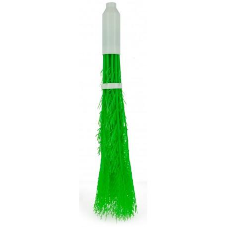 Balai bouleau synthétique vert pour voirie / Monture plastique