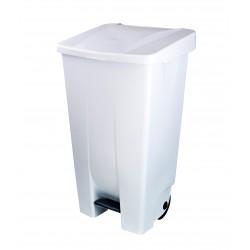 Poubelle container de cuisine 95L corps blanc