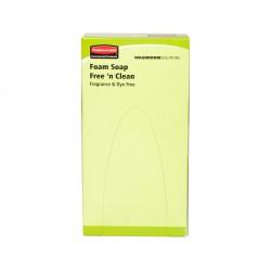 Savon mousse Free n' Clean Ecolabel 800ml RVU8502 - Ct 6 recharges