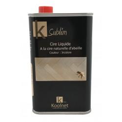 Cire liquide à la cire naturelle d'abeille KSUBLIM - Bidon 1L