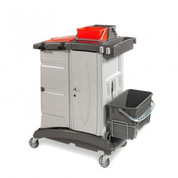 Chariot caréné MXTOP 204 avec système de lavage sécurisé à clef