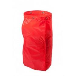 Sac nylon 120L rouge VDM pour chariot IDEATOP