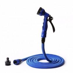 Tuyau d'arrosage extensible de 5 à 10m NAJA10 bleu