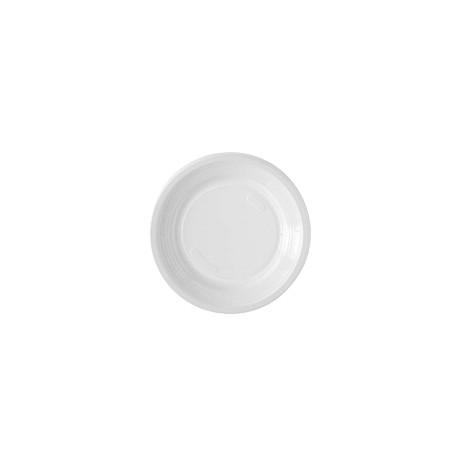Assiette dessert blanche D.17 - Colis 2000