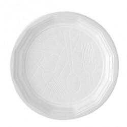 Assiette blanche D.22 - Colis 1200 (ex 123682)