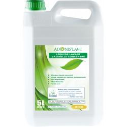 Liquide vaisselle ADONI'S LAVE machine ECOLABEL LABOJAL - Bidon 5L