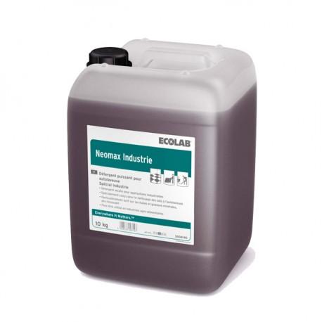 Détergent alcalin NEOMAX INDUSTRIE ECOLAB  - 3006140 - Bidon 10L