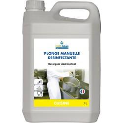 Liquide vaisselle PLONGE DESINFECTANTE manuel LABOJAL - Bidon 5L