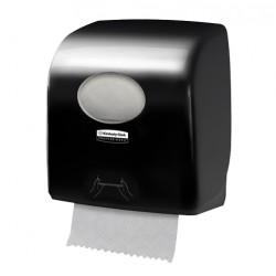 Distributeur essuie-mains rouleaux 190m AQUARIUS SLIMROLL noir