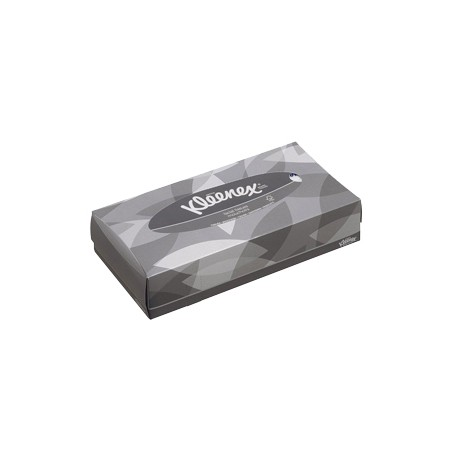Mouchoirs 2 pl. blanc KLEENEX - Colis 2100 (21x100)