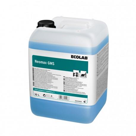 Détergent alcalin autolaveuse NEOMAX GMS ECOLAB - 3024960 - Bidon 10L