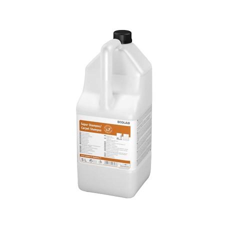 Shampooing mousse sèche ECOLAB CARPET SHAMPOO - 3023020 - Bidon 5L