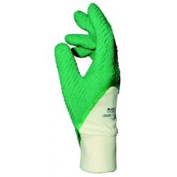 Gant latex rugueux blanc/vert MAPA HARPON 330 (8 à 9) - 1 paire