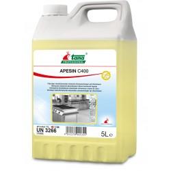 Nettoyant désinfectant chloré moussant APESIN C400 - Bidon 5L