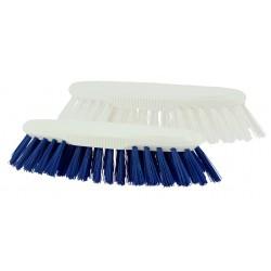 Brosse droite polyester mi-dur / Monture PP 19cm / Gamme alimentaire
