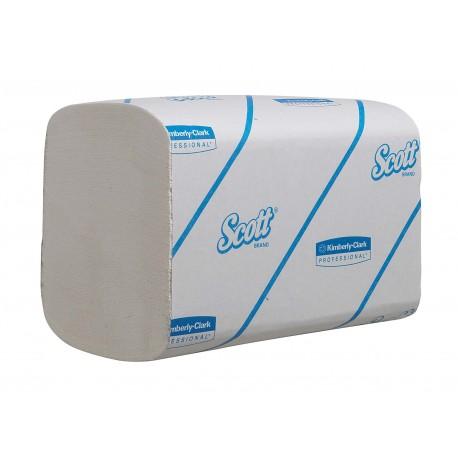 Essuie-mains PM 1 pl. blanc SCOTT ESSENTIAL ECOLABEL - Colis de 4800