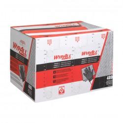 Chiffons WYPALL FORCEMAX bleu gris - Boite distributrice 480